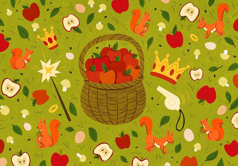 Le prix des belles pommes