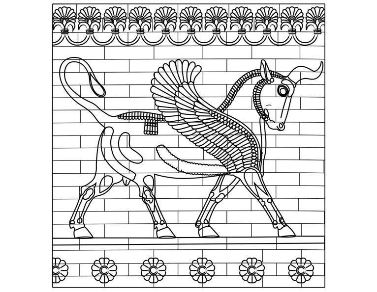 Le taureau ailé
