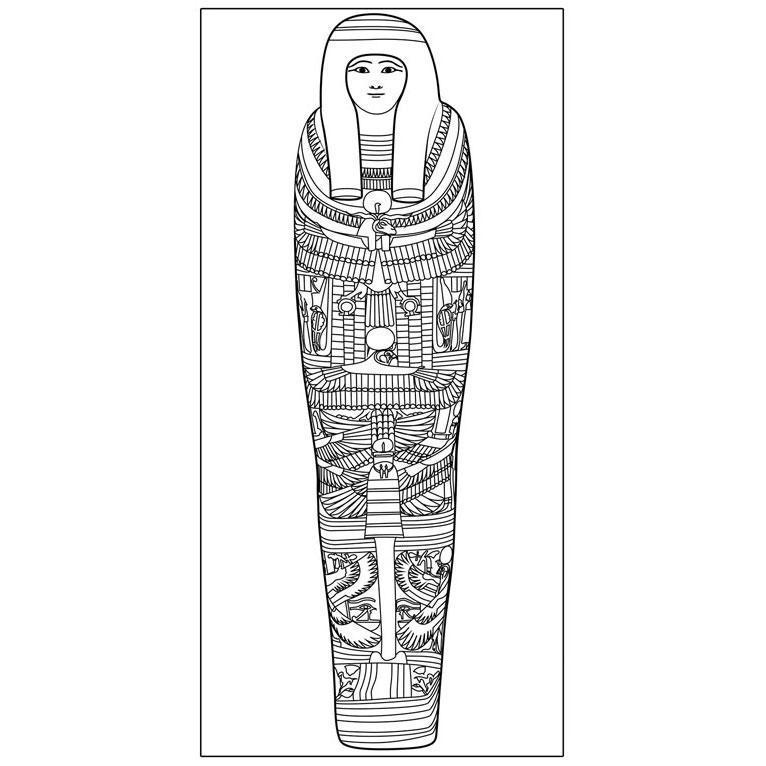 Le sarcophage égyptien