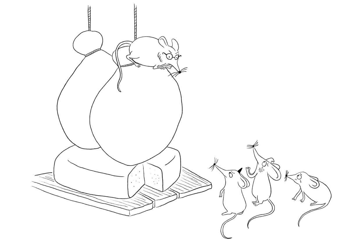 Le Rat qui s'était retiré du monde