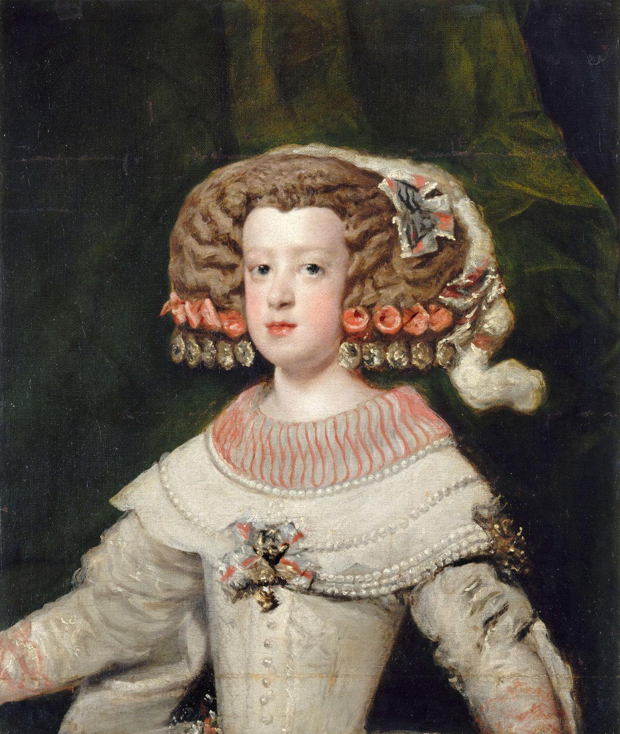 L'Infante Marie-Thérèse, future reine de France