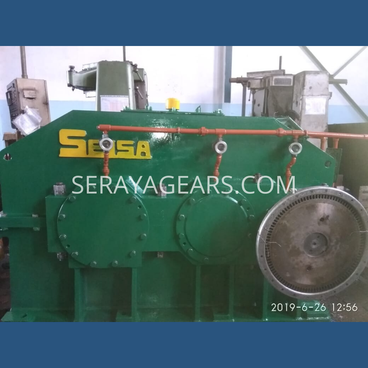 Indocement Gearbox