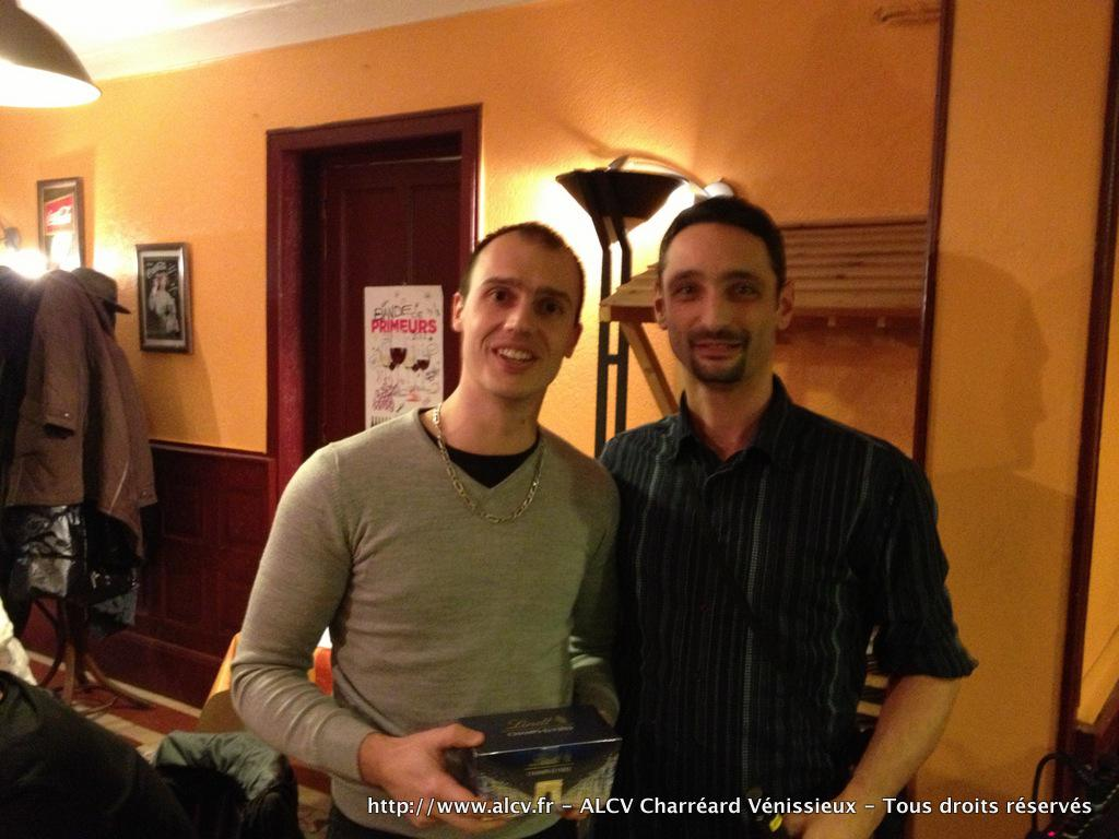 2012-2013 – Remise des Prix – TOP ALCV Novembre - 2