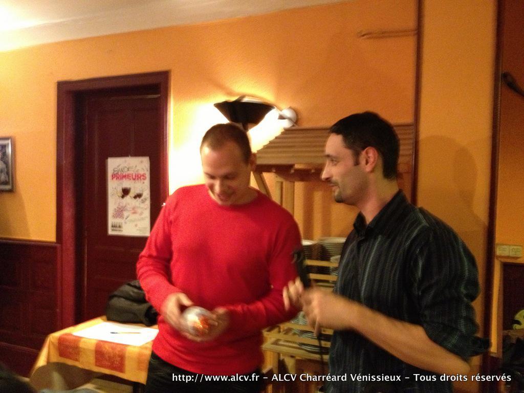 2012-2013 – Remise des Prix – TOP ALCV Novembre - 12