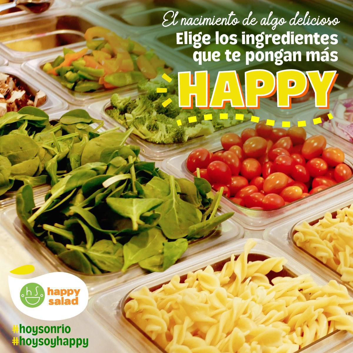 Happy Salad Río Herradura