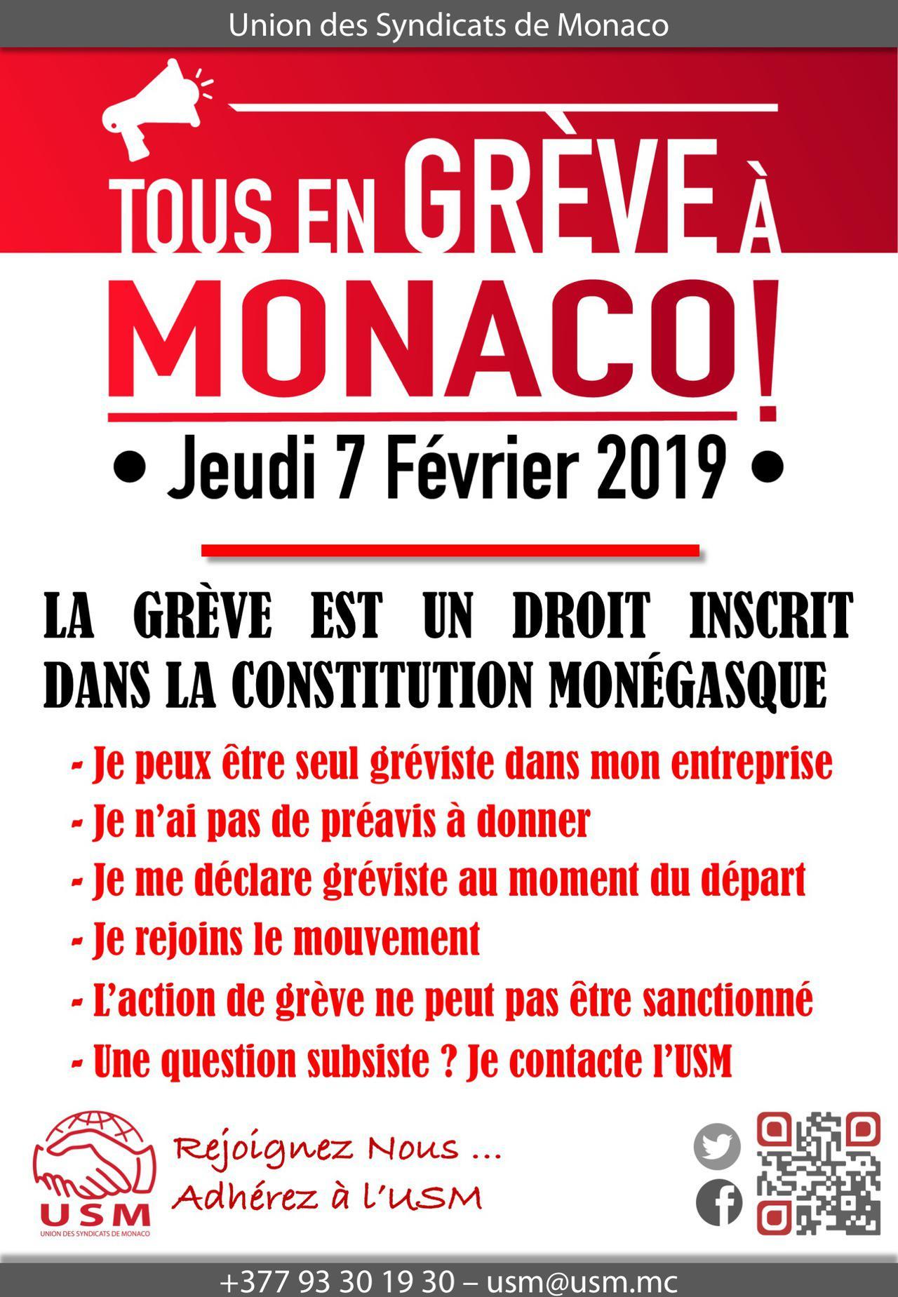 Grève du 7 Février 2019