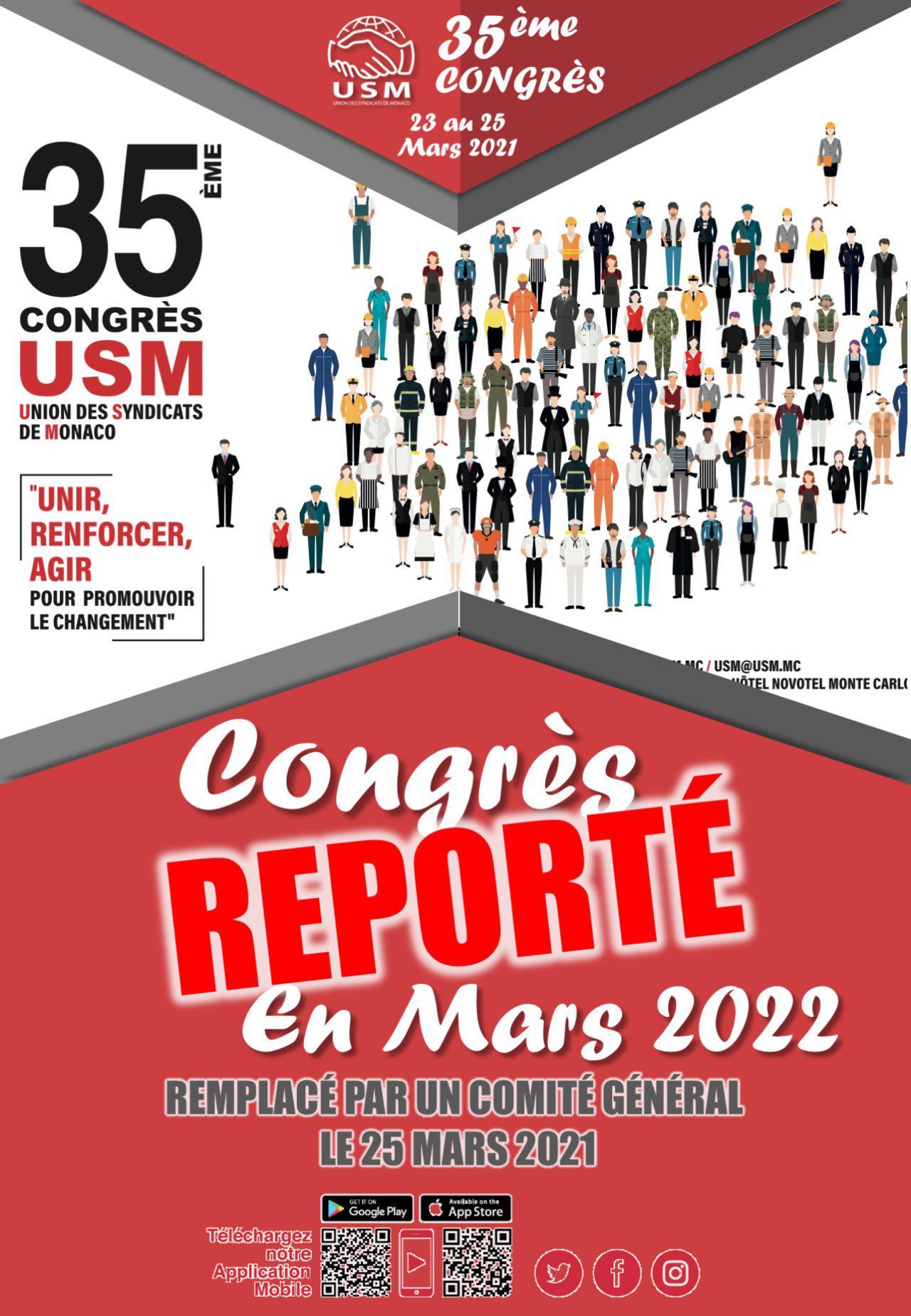 Congrès - Report