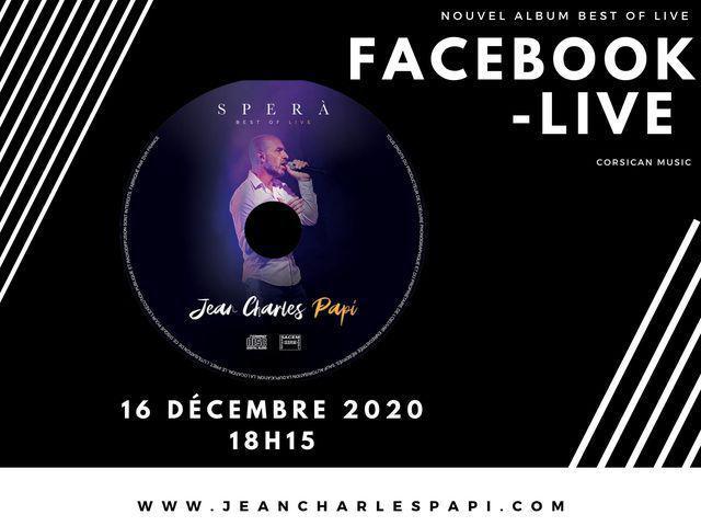Jean-Charles Papi - Nouvel Album