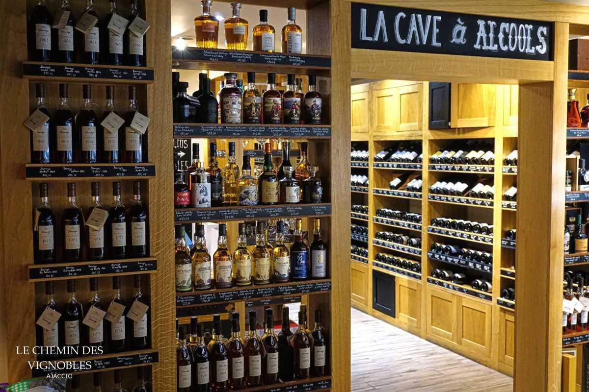 Le Chemin des Vignobles - Caviste à Ajaccio