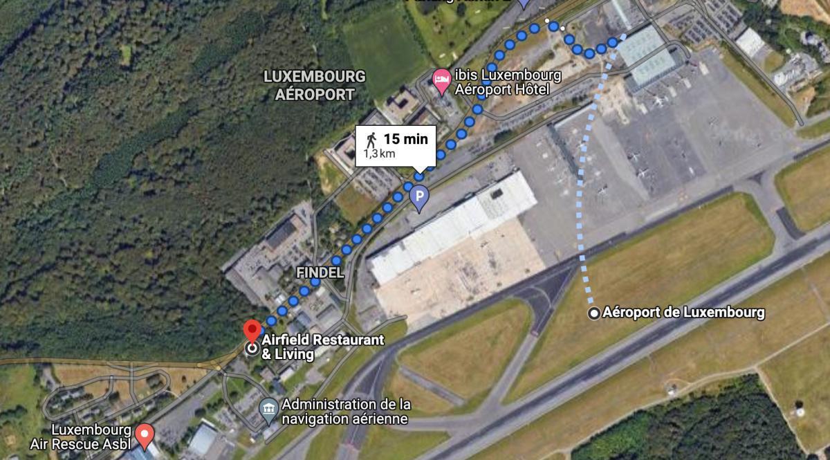 Hôtel Airfield Restaurant & Living 🛩 ELLX LUXEMBOURG