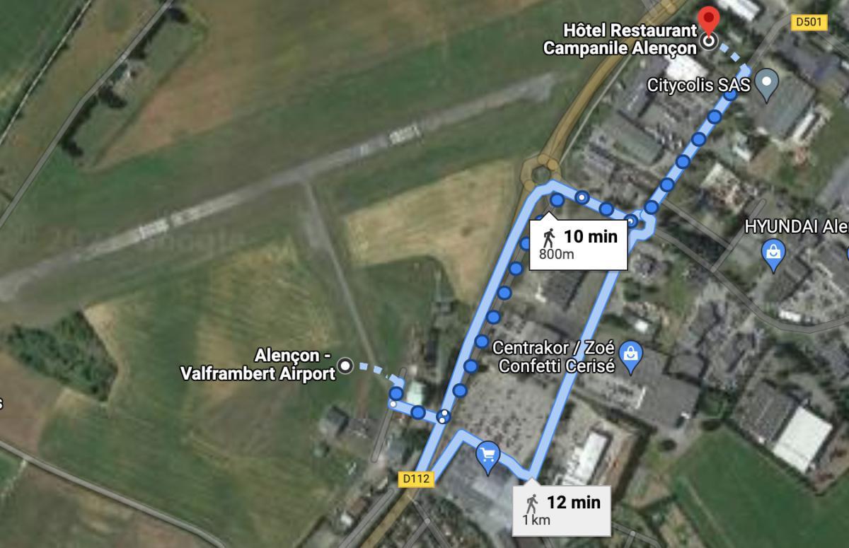 Hôtel Restaurant Campanile Alencon 🛩 LFOF ALENCON VALFRAMBERT
