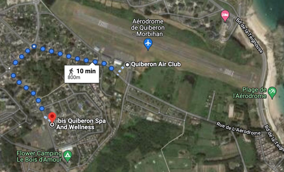 Hôtel Restaurant Bar Ibis Quiberon Spa and Wellness 🛩 LFEQ QUIBERON