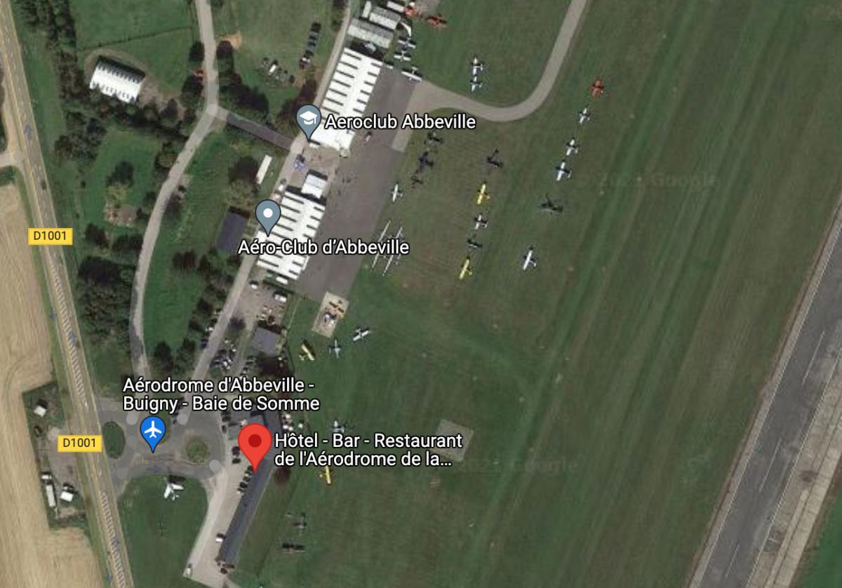 L'Aérodrome de la Baie de Somme, Hôtel, Bar et Restaurant - LFOI ABBEVILLE