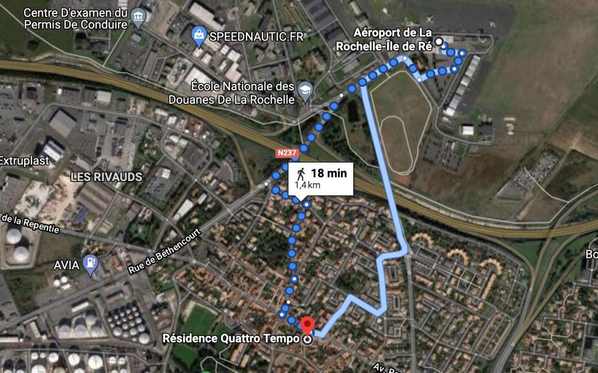 Appartements QUATTRO TEMPO, locations courte durée 🛩 LFBH LA ROCHELLE
