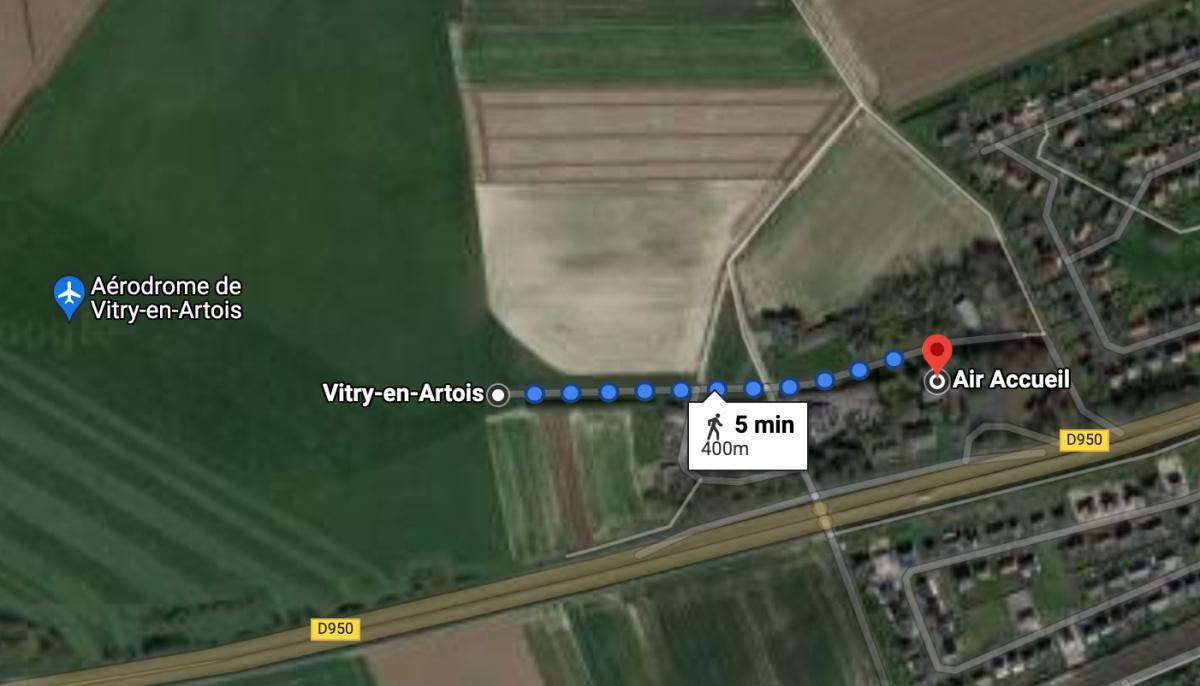 Air Accueil Restaurant 🛩 LFQS VITRY EN ARTOIS