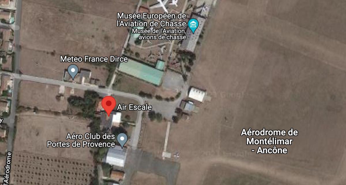 Restaurant Air Escale 🛩 LFLQ MONTELIMAR ANCONE