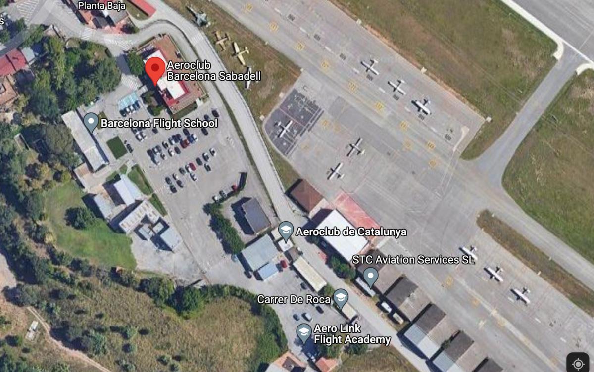 El Restaurant de l'Aeroclub 🛩 LELL BARCELONA-SABADELL