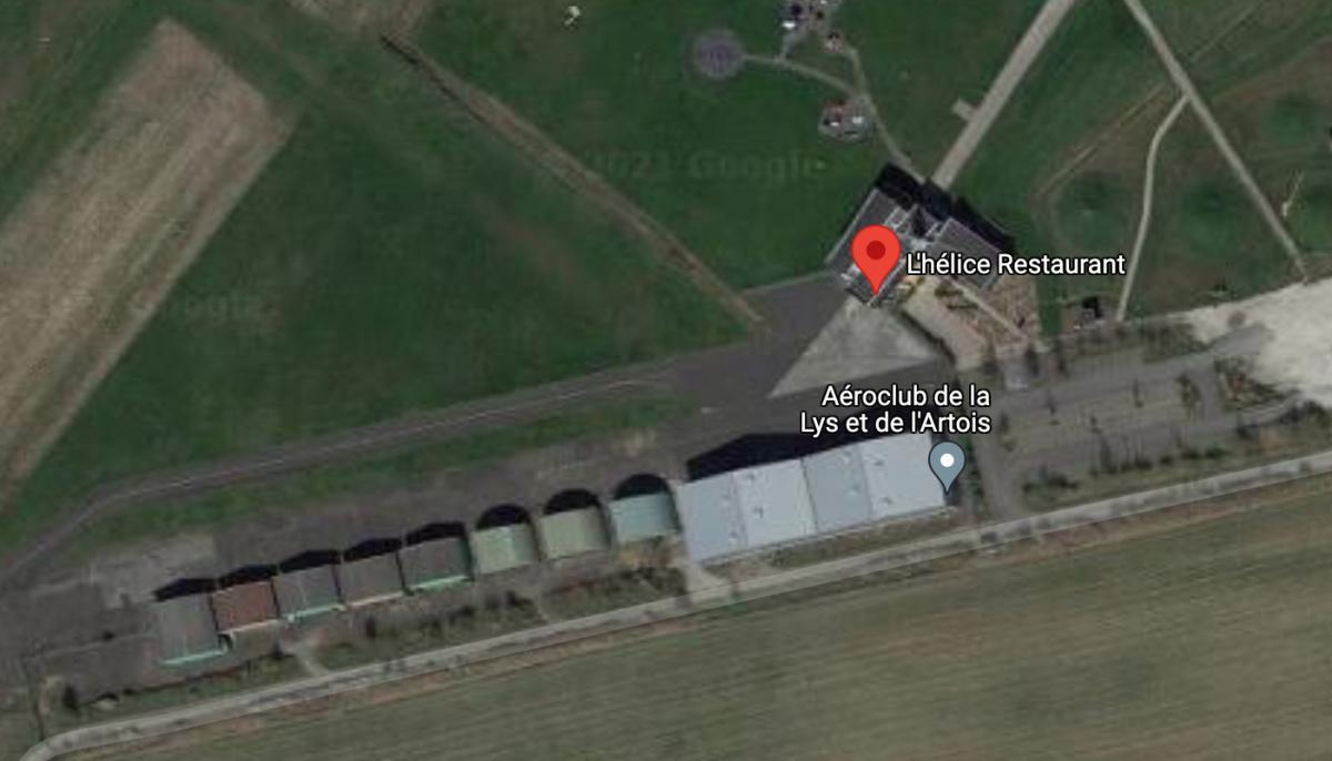 L'Hélice Restaurant 🛩 LFQT MERVILLE CALONNE