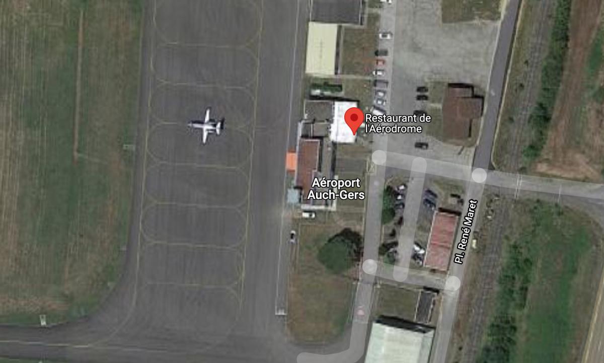 Restaurant de l'Aérodrome 🛩 LFDH AUCH GERS