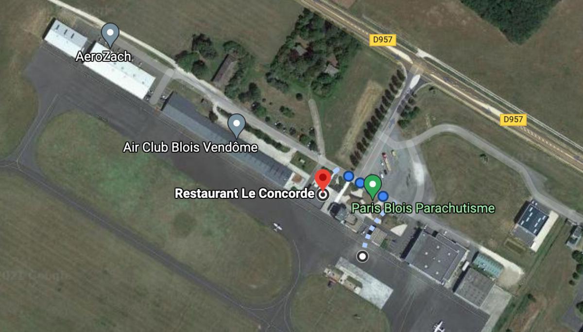 Restaurant Le Concorde 🛩 LFOQ BLOIS LE BREUIL