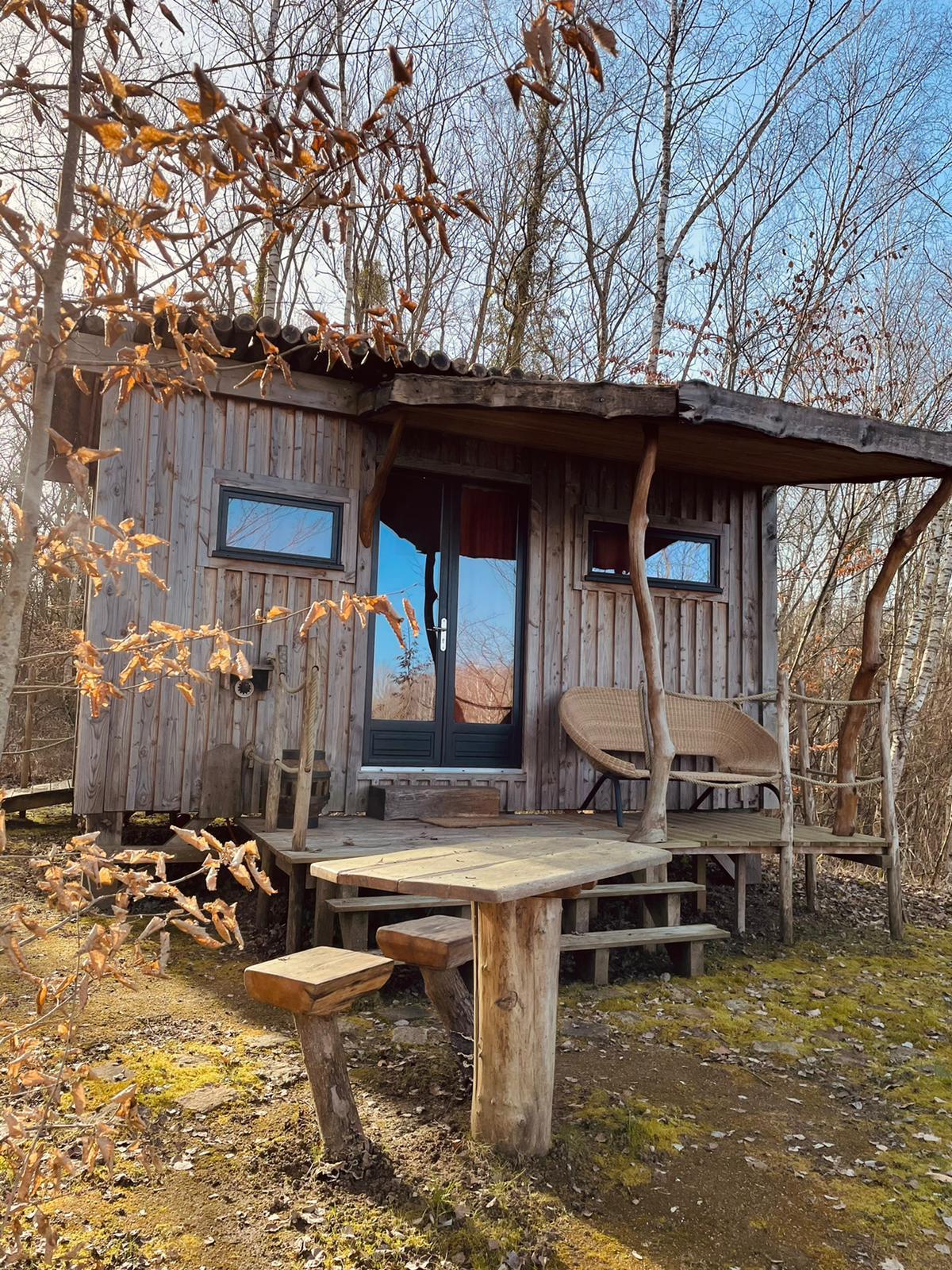 Eco-domaine Coucoo La Réserve, cabanes cachées.