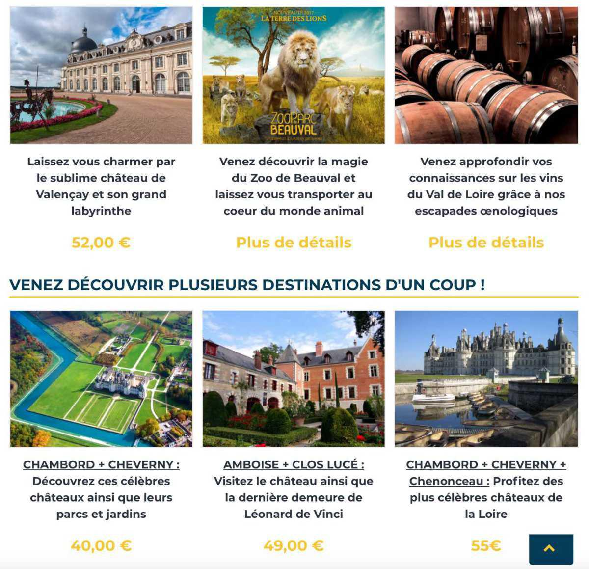 Les Châteaux de la Loire avec ROYAL CONNECTION
