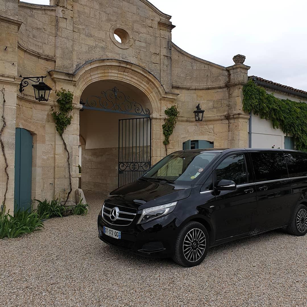 Les vignobles du Bordelais avec VTC Bordeaux Nansouty