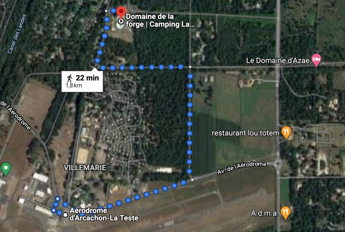 Camping Bar Restaurant La Forge 🛩 LFCH ARCACHON LA TESTE DE BUCH