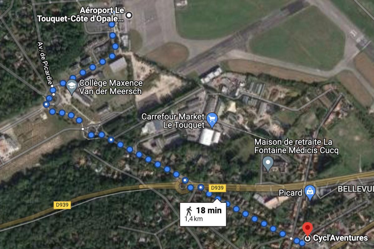 Cycl'Aventure, location de vélos 🛩 LFAT LE TOUQUET COTE D'OPALE