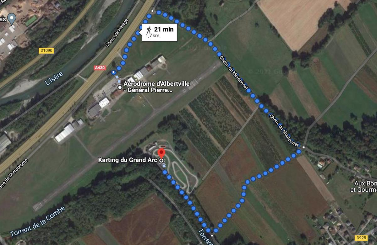 Karting du Grand Arc 🛩 LFKA ALBERTVILLE GÉNÉRAL PIERRE DELACHENAL