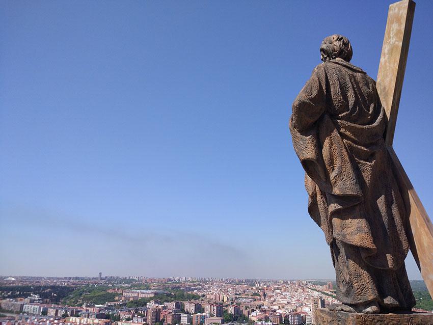 Subir a la Cúpula Catedral de la Almudena