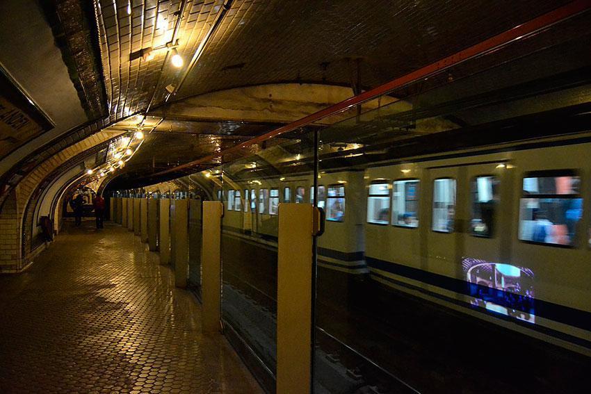 Andén 0 | Estación Museo - Chamberí