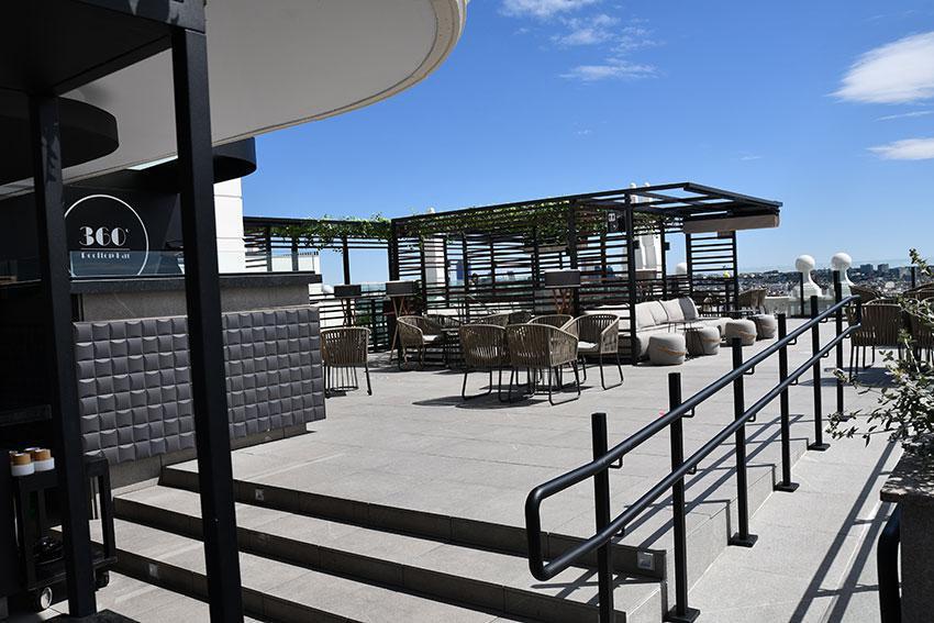Mirador Panorámico Hotel Riu Plaza España