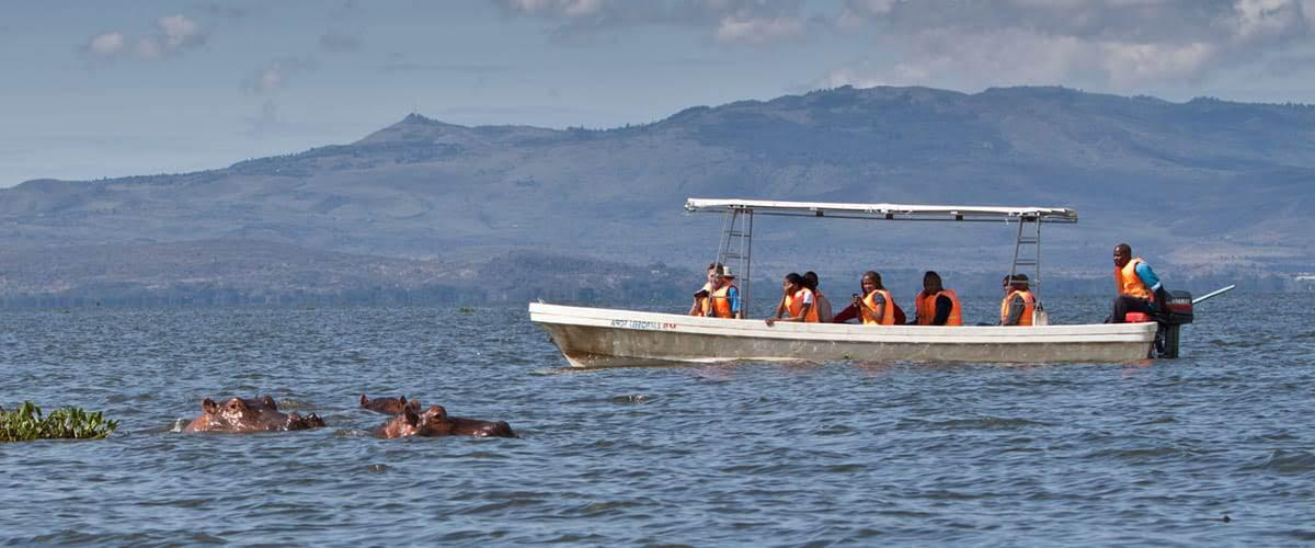 Boat Riding on Lake Naivasha