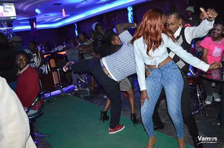 Party at Bubbles Lounge Naivasha