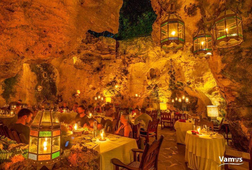 Ali Barbours Cave Restaurant
