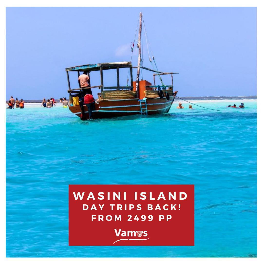 Spot Dolphins in Wasini Island, day trips from 2459 Per person