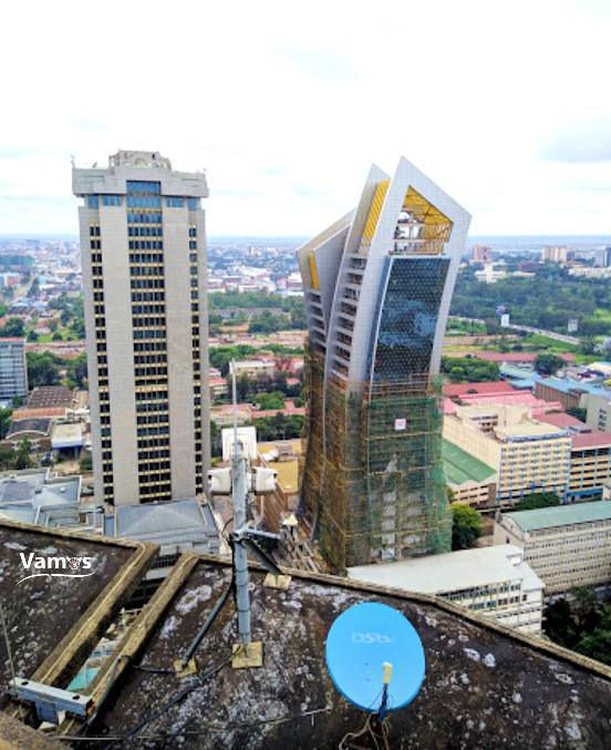 KICC Rooftop Experience (Helipad), One of the Best Views of Nairobi!