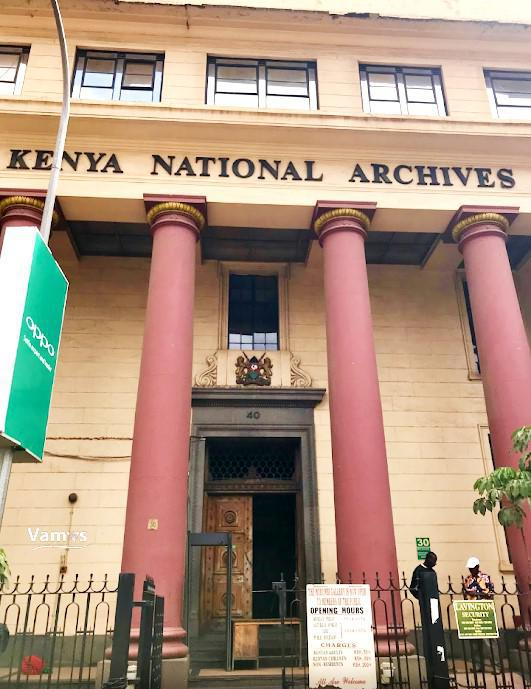 National Archives Moi Avenue