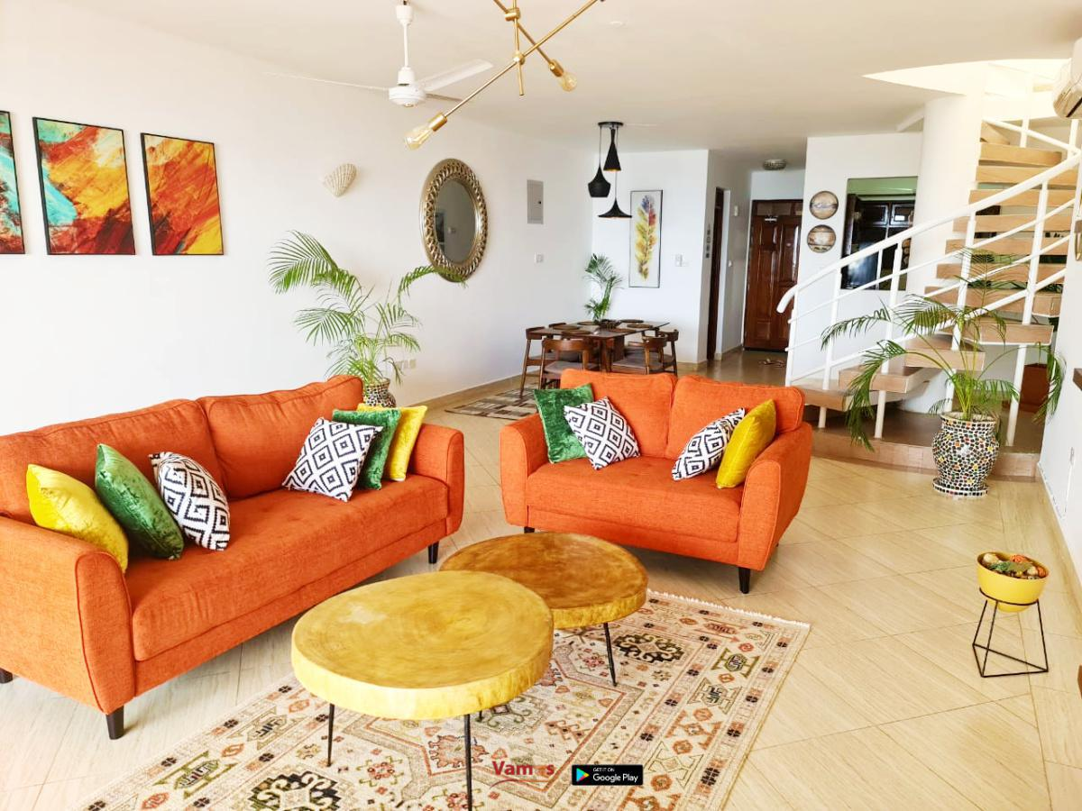 Stay in this Luxurious Beachfront Duplex apartment from 1799 Per person!