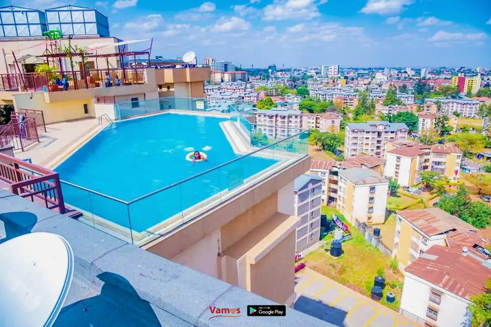 Rooftop Pool in Madaraka: Stay from 1399 Per Person!