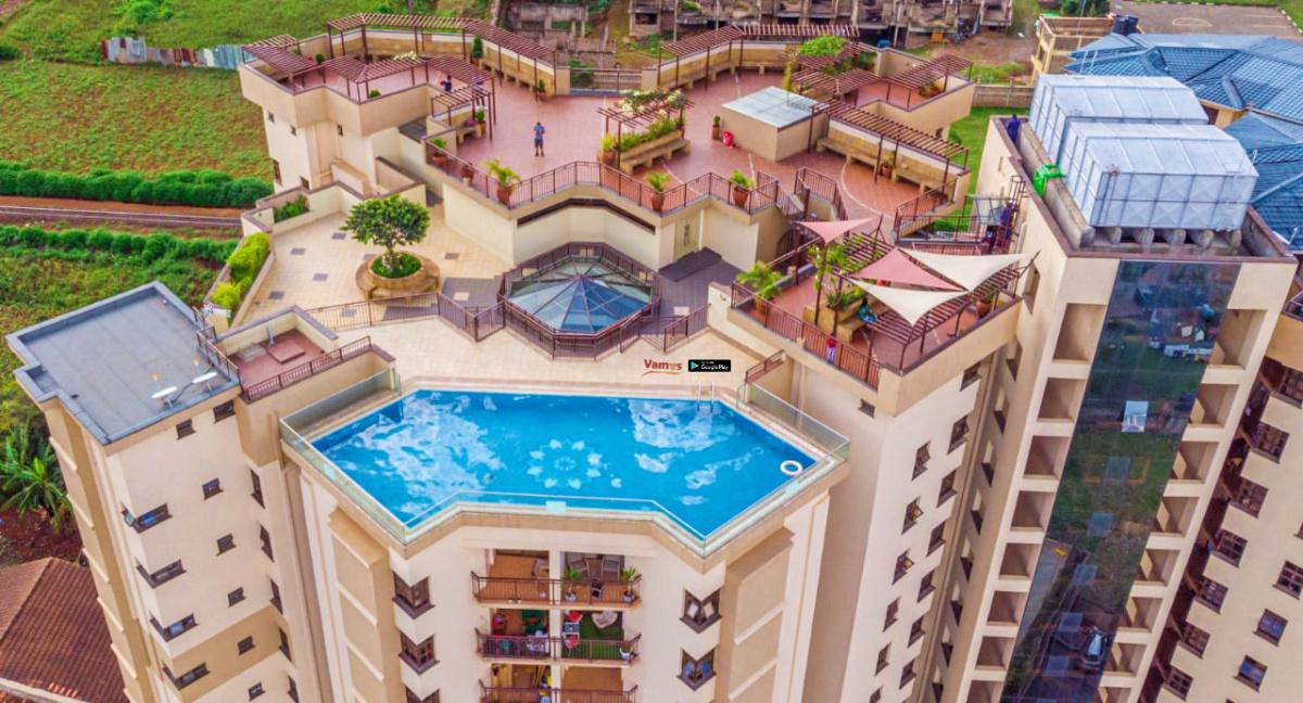 Rooftop Pool in Madaraka: Stay from 1499 Per Person!