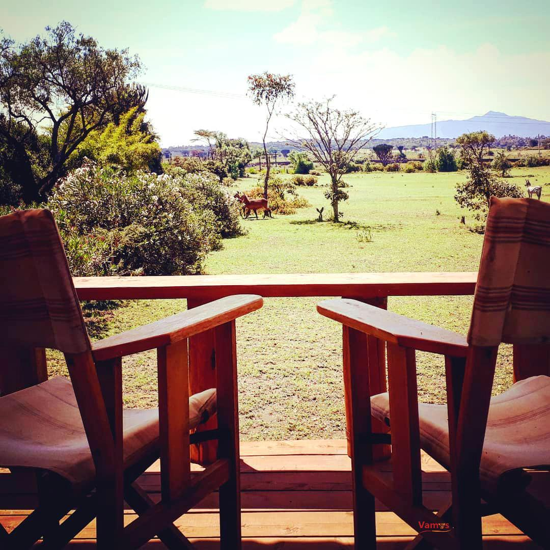 Stay right next to Lake Naivasha in this unique 1 Bedroom Tower house from 4950 per person!