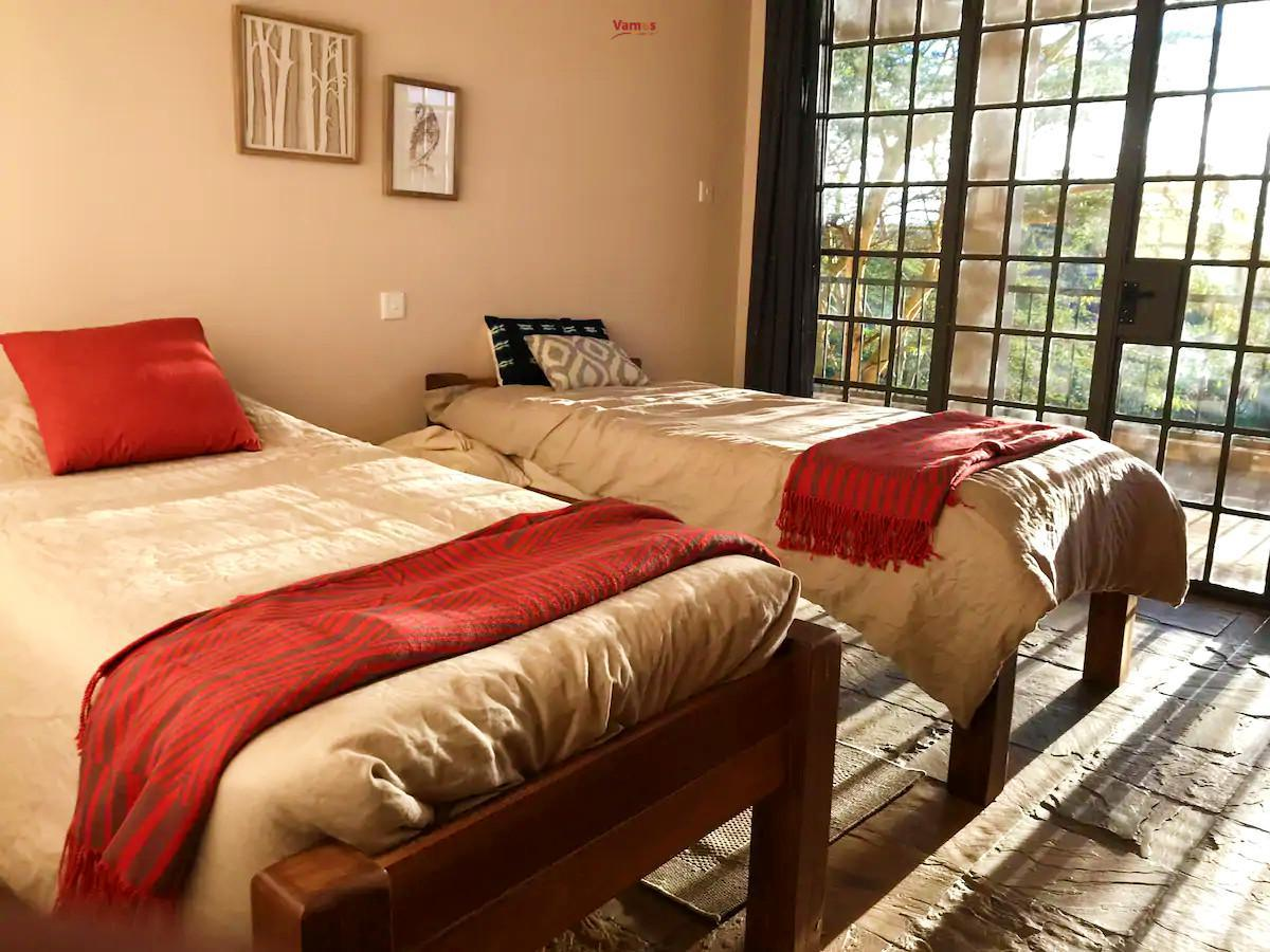 Stay in this rustic and quiet vacation home located close to the Malewa River from 2050 per person!