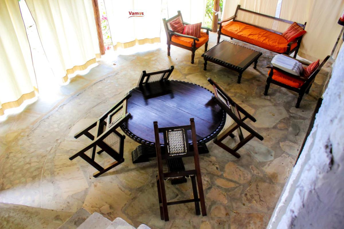 Stay in these prestine beachfront cottages in Malindi from 1999 per person!