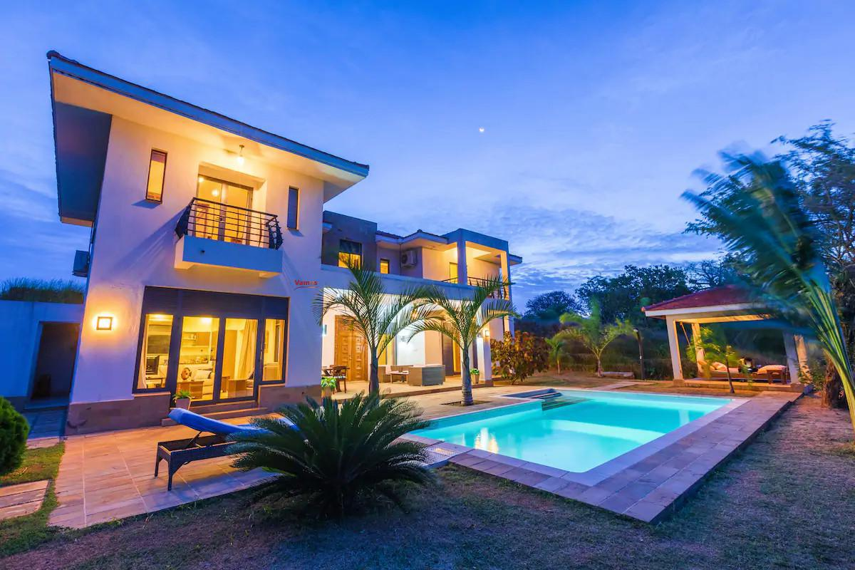 Stay in this stunning private villa in Kilifi from 3499 Per Person!