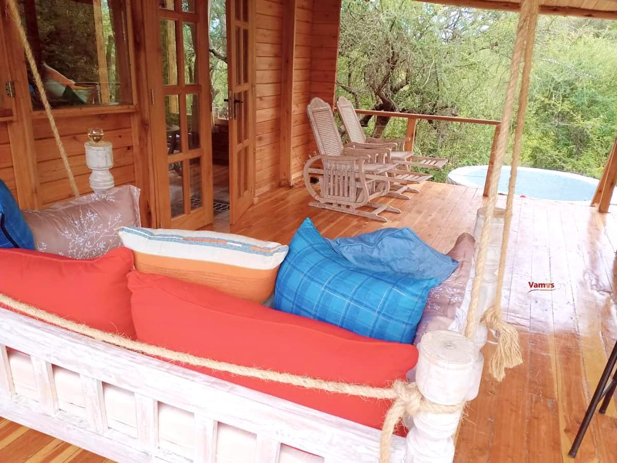 Stay at Olelek 2 Bedroom wood cabin from 3950 Per Person!