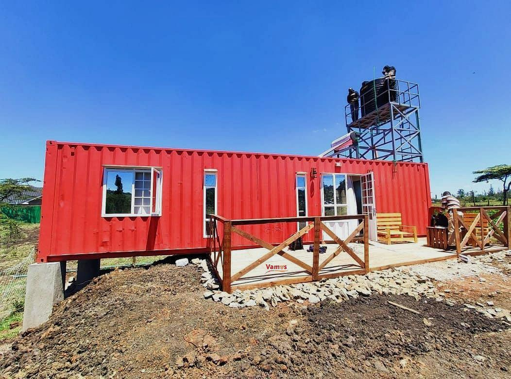 Stay solo ama na bae in this container house in Ngong from 2359 per person!