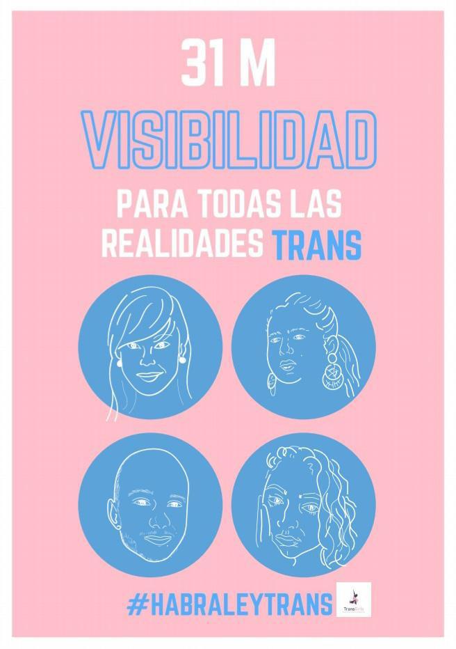 Día Internacional de la Visibilidad Trans y este año tenemos mucho que reivindicar.