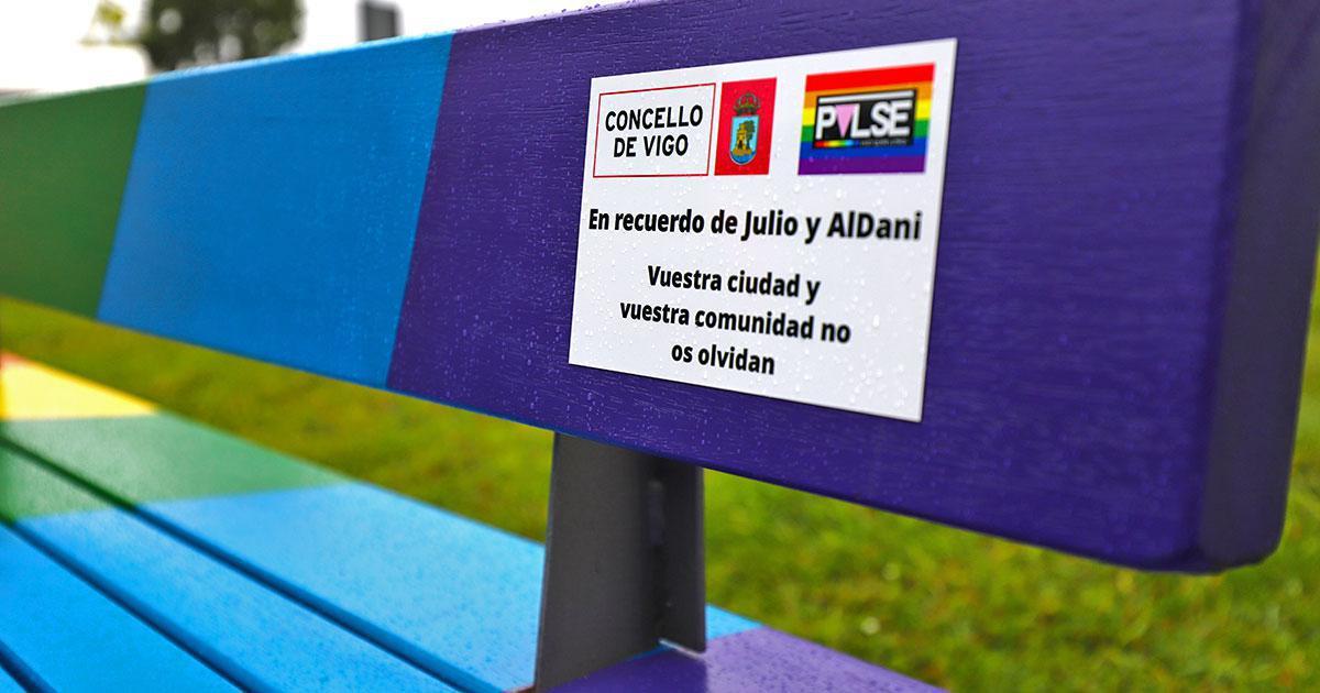 Un espacio LGTB+ conmemora a las víctimas de la calle Oporto